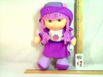 Кукла мягкая музыкальная в шляпке