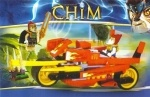 Конструктор Chima   мотоцикл на запуске