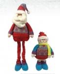Дед Мороз, Снеговик 64см (2 вида в асс.)