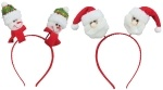 Обруч Дед Мороз, Снеговик, в ассортименте 2 вида