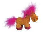 "Сувенир ""HORSE"",  11см, оранжевый"