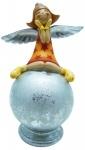 """Копилка """"Ангел на шаре"""", 15см, цветная"""