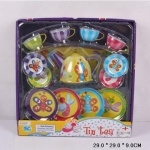 Набор металлической посудки «Tin tea set»