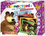 Игра на магнитах Маша и медведь. По местам Vladi Toys (укр)