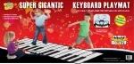 Гигантский напольный коврик-пианино