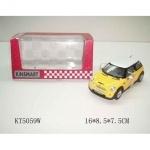 Коллекционная машинка Mini Cooper S