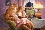 "Пазлы 1500 ""Домашний кот"""