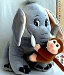Слоник с обезьянкой