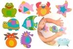 Kinderenok: Набор аква-пазлов для игры в ванне Bath'n Puzzles