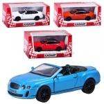 Коллекционная машинка Bentley Continental Supersports Convertible 2010
