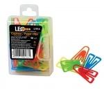 Скрепки пластиковые 25мм цветные 50шт