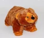 """Подушка-складушка """"Медведь"""""""