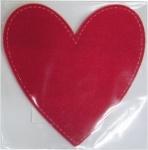 """Сувенир """"Сердце"""", войлок, 16,5см, красное"""