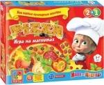 Игра на магнитах Пицца ТМ Vladi Toys