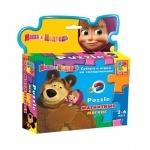 Pazzle обучающий Маша и Медведь ТМ Vladi Toys