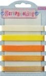 Набор лент декоративных, оттенки жёлтого