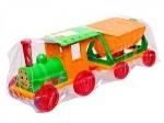 Конструктор-поезд с 1 прицепом