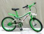 """Велосипед детский 2-х колесный 18"""" , зеленый"""