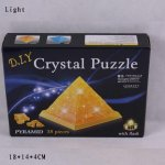 Пазлы 3D кристалл Пирамида