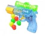 Водяной пистолет стреляет шариками