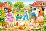 "Castorland: пазлы махі 40 ""Ферма"""