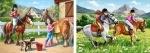 """Castorland: Пазлы 2х1 """"Прогулки на лошадях"""""""