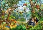 """Castorland: пазлы """"Скрытая жизнь джунглей"""" 2000 элементов"""