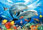 """Castorland: пазлы """"Дельфины"""" 1500 элементов"""