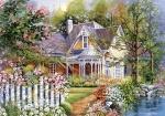 Castorland: Пазлы 500 элементов Загородный дом