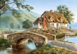 Castorland: Пазлы 500 элементов Мост коттедж