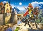 Castorland: Пазлы 120 эл. Рыцарь и принцесса