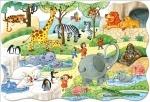 """Castorland: пазл махі """"Зоопарк"""", 20 эл."""