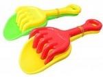 Лопатка + грабли детские для песка