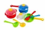 Тигрес. Набор игрушечного посуды столовый Ромашка 10 элементов