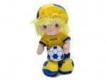 Футболист мягкий музыкальный Украина