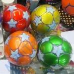 Мяч футбольный PVC размер 2 90г