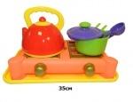 Набор посуды 5 предметов с плитой