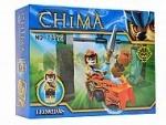 Конструктор герой CHIMA на чимацикле
