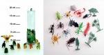 Набор дикие/ насекомые/ риптили
