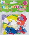 "Наклейки для творчества ""Сердечки"", ЭВА, 180шт/уп"