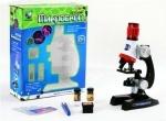 Игрушечный Микроскоп на батарейках