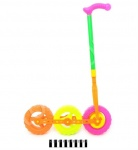 Каталка-колесо тройное