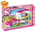 Конструктор Hello Kitty кафе, 47 деталей