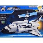 Конструктор KAZI Космический корабль, 630 деталей