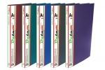 Папка-скоросшиватель с карманом А4 зеленая
