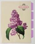 """Уголок А4 с 4-я разделителями """"Botanique"""""""