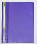 Скоросшиватель пластиковый А4 фиолетовый