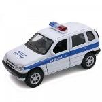 Коллекционная машинка CHEVROLET NIVA милиция