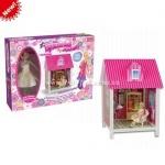 Домик, кукла - игровой набор для девочек