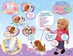 Кукла функциональная Мила  со щенком